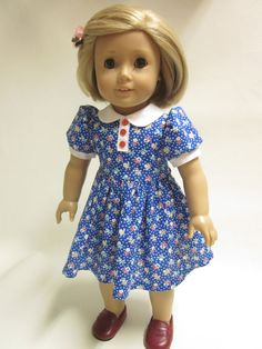 18 inch American Girl Doll Clothes  Dress for by IndustriousDog, $11.00