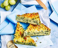 Be the champion of meal prep with this courgette slice - just over 60 minutes of work and you can have lunch ready in the freezer for two months!