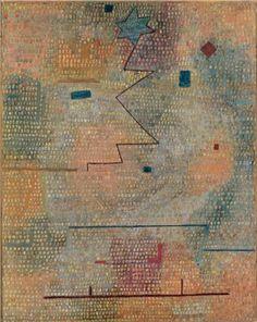 Rising Star - Paul Klee, 1923.