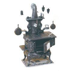 Cook Stove Chrysnbon® Kit   Free Shipping over $225 @ miniatures.com