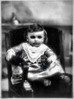 creepy little babe