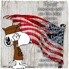 We need to remember this, America! Start acting like we deserve their sacrifices! Snoopy Love, Charlie Brown And Snoopy, Snoopy And Woodstock, Peanuts Cartoon, Peanuts Snoopy, I Love America, God Bless America, Snoopy Quotes, Me Quotes