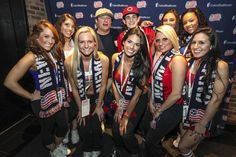 James Massone with the Rev Girls!