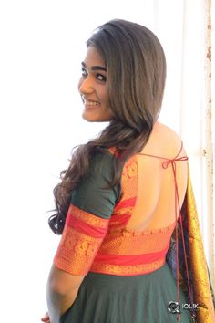 Shalini Pandey Photos [HD]: Latest Images, Pictures, Stills of Shalini Pandey - FilmiBeat Salwar Designs, Half Saree Designs, Fancy Blouse Designs, Kurta Designs Women, Sari Blouse Designs, Kurti Designs Party Wear, Designs For Dresses, Dress Neck Designs, Blouse Neck Designs