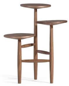 Midcentury-style Tripod side table at Made
