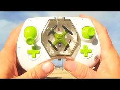 awesome Fayee FY804 World's Smallest Spinning Drone Flight Test Review