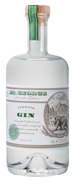 St. George Gin, packaging
