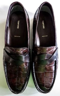 Tom Ford Crocodile Loafers