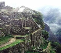 "Machu Picchu    ""You're off to Great Places!  Today is your day!  Your mountain is waiting,  So... get on your way!"""