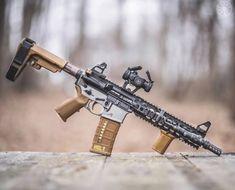 Ar Pistol Build, Ar15 Pistol, Tactical Rifles, Firearms, Shotguns, Weapons Guns, Guns And Ammo, Airsoft, Arsenal