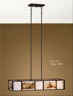 Uttermost Quarry 4Lt Oil Rubbed Bronze Chandelier 21224