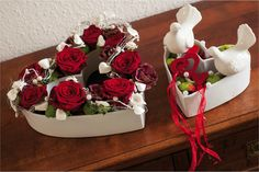 tutos centre table st-valentin - Recherche Google