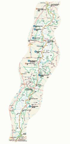 Shenandoah National Park - Area Maps - Visitshenandoah.com