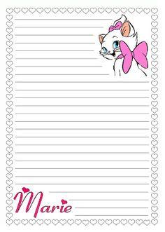 Cantinho Doces Sonhos: Papéis de carta decorados para meninas