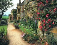 Castle gardens, England