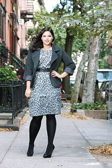 More on how to dress your body from Glamour.com. Plus size blazer