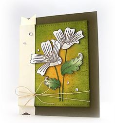 Another stunning card by Miss Jill Foster. :)