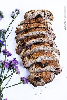 Pan de cereza y chocolate