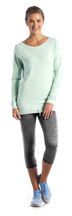 Timeless Tunic and Cuddle Up Capri - Ellie