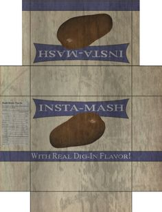 Insta mash from fallout. I know a copy of this exists, but mine is better. why? because I looked at the in game box the whole time. check for yourself. click download picture to see full size. fixe...