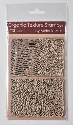 Organic Texture Stamp/Sheet - 'SHORE'