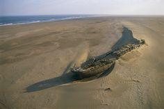 Wreck of the Eduard Bohlen.