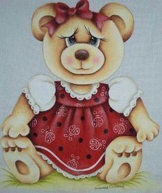 Ursinha com vestido - Sem crédito