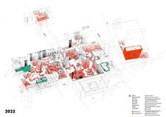 """""""Lower East Side Quarry"""" by Rebecca Fode (at the time of the project, a student of Unit 11 at the Bartlett School of Architecture—, taught by Mark Smout, Laura Allen, and Kyle Buchanan) is a speculative project elaborated through an interesting narrative and some compelling maps. In this..."""