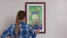 The Meural Canvas smart art frame, powered by NETGEAR, gives you access to tens of thousands of works—And it's easy to upload your own. Smart Art, Framed Art, Digital Art, Canvas, Modern, Poster, Gifts, Painting, Drawings