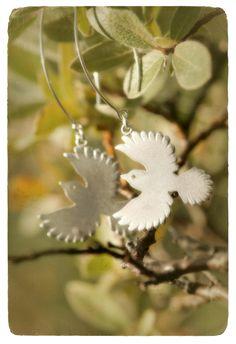 Silver Siberian Jays made by Tytti Bräysy