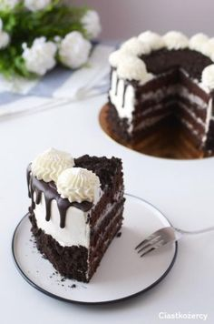 Cake Decorating Designs, Cake Designs, Oreo Cake, Home Food, How Sweet Eats, Cake Recipes, Cheesecake, Food And Drink, Yummy Food