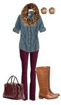 6f52b541e0 41 Best Burgundy Pants Outfit images