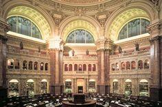 Bibliothèque des Congrès aux Etats-unis