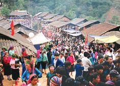 Bac Ha market - the market of ethnic minorities on the weekend