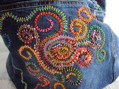 Сумки из старых джинс. Обсуждение на LiveInternet - Российский Сервис Онлайн-Дневников