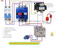 Esquemas eléctricos: Motor bomba cuadro electrico mas boya de nivel mon...