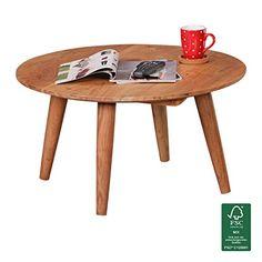 Pali Couchtisch 70x70 Cm Wohnzimmertisch Tisch Holztisch Aus Akazie Beistelltisch