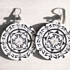 Reflections Earrings by Michelle Lowden (Acoma)