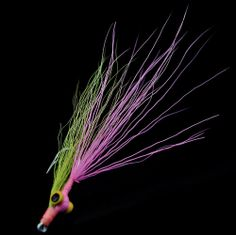 4x ULTIMATE Saltwater Fly Fishing MACKREL flies  Clouser minnows surf candy 2//0