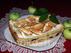 Toustová žemlovka s jablky a pudinkem