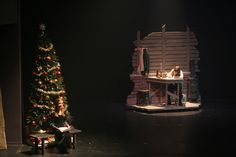 set design a christmas carol | for the non contracted theater production of a christmas carol