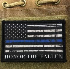 Thin Blue Line Honor The Fallen Morale Patch