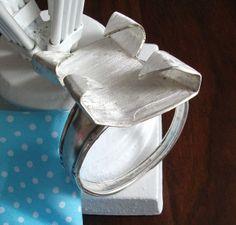Silberarmreifen Armband Silberbesteck 115 von Atelier Regina auf DaWanda.com