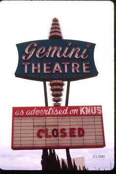The Drive-In Theater Section, Gemini Drive-In Dallas