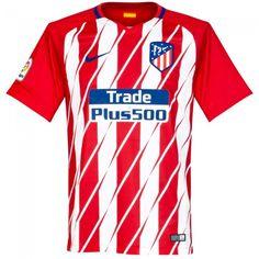 Camiseta del Atlético Madrid 2017-2018 Local  atletico  shirt Liga De Futbol  a4f439ed97ce7