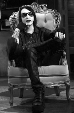 {Marilyn Manson} Marilyn Manson #goth #MarilynManson #music