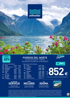 Crucero Fiordos del Norte 2014 - Pullmantur TI con vuelo desde 852€ - http://zocotours.com/crucero-fiordos-del-norte-2014-pullmantur-ti-con-vuelo-desde-852e/
