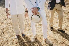Alejandra y Mark, boda en Menorca | Así Si Quiero | mediterranean wedding look outfit invitados guest style cool chic casual mediterraneo