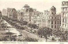 arquitetura 1940 - Avenida Rio Branco
