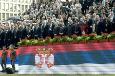 Military parade �Step-winner� in honor of the 70th anniversary of the liberation of Belgrade /